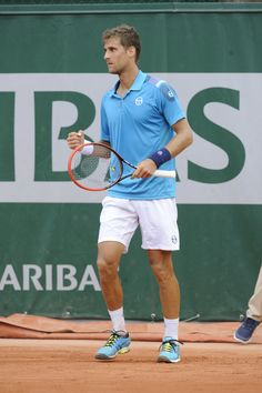 Sergio Tacchini - atleti - Martin Klizan  -  Roland Garros 2015