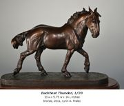 Bronze Horse Sculpture by Lynn A. Fraley, Laf'n Bear LLC...she holds workshops and I really want to attend one!