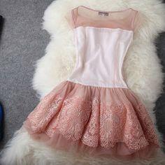 D182 Retro Embroidered Dress US$150 | DRESSES UP - Pre Black Friday Sale 20% OFF