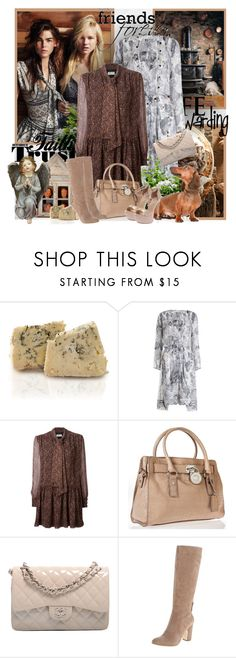 """""""№ 357"""" by olga3001 ❤ liked on Polyvore featuring Reyes, Zimmermann, Chanel, Yves Saint Laurent, Michael Kors and Anne Klein"""