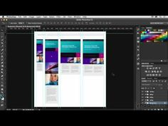 14 Creating responsive templates in Photoshop(Photoshop CC for Web Design) - YouTube