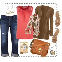 Spring Casual, created by jill-hammel on Polyvore