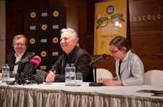 Alan Rickman at the Febiofest Prague International Film Festival