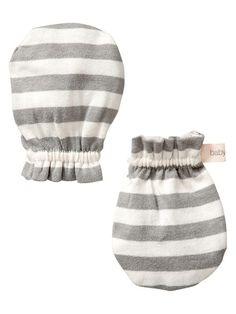 Gap | Organic striped mittens