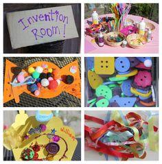 Indoor activities Willy Wonka Birthday Party!