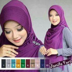 Jilbab Instant Jamila Cutting jersey zoya