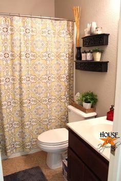 Guest Bathroom reveal and source list at House of Hepworths www.houseofhepworths.com