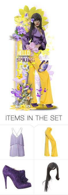 """Hello Spring!"" by tracireuer ❤ liked on Polyvore featuring art"