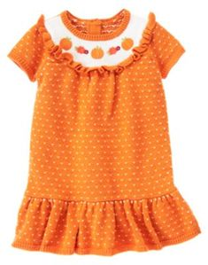 Baby & Toddler Clothing Gymboree Halloween Or Thanksgiven Orange Polka Dot Leggings Size:2t Guc