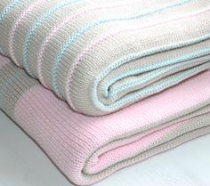 Two of our newest designs in cotton baby blankets 100cm x 70cmCall Monché on 02 8068 2541 www.monche.come.au