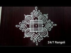 Rangoli Side Designs, Rangoli Designs Latest, Simple Rangoli Designs Images, Free Hand Rangoli Design, Small Rangoli Design, Rangoli Designs Diwali, Rangoli Designs With Dots, Beautiful Rangoli Designs, Rangoli Colours