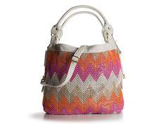 Cute and summery! Big Buddha Courtney zigzag shoulder bag at dsw