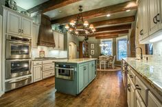 dream kitchen: beams island cabinets space