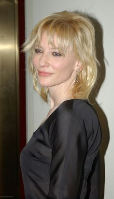 Cate Blanchett *maybe not her best hair but we can see her Ethereal + Natural essence here