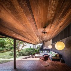 The Goodsill Residence Darren Bradley Hawaii modernism patio terrace daylight