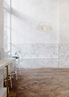 royal exchange grind coffee shop and bar london | wanderlust design on coco kelley