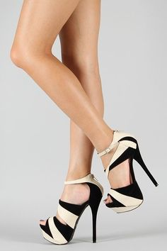 Liliana Reseda-12 Two Tone Platform | http://my-shoes-608.blogspot.com