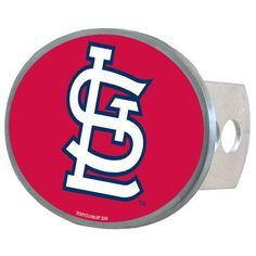 St. Louis Cardinals MLB Oval Hitch Cover