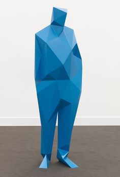 Abstract sculpture by Xavier Veilhan                                                                                                                                                                                 More