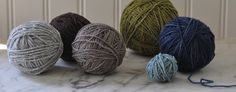 Natural yarn blend of USA Alpaca and Rambouillet is 100 percent American Yarn made in Maine from Swans Islandnd Historic New England, Swans, South Dakota, Wool Yarn, East Coast, Farms, Fiber, Throw Pillows, Rustic