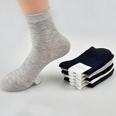 11e0d8220a WOTTE Mens Socks Cushioned Breathable Classic Athletic Cotton Crew Socks  5Pack 6Pack 10Pack -- Check out this great product.Note It is affiliate  link to ...