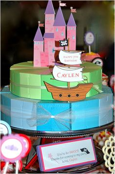 Cute ideas for a Pirate and Princess Party