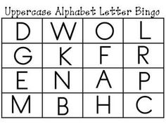 Alphabet letter and letter sounds bingo cards pinterest alphabet alphabet letter and letter sounds bingo cards kindertrips teacherspayteachers spiritdancerdesigns Choice Image