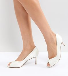 Order ASOS SUMMER Mid Heels online today at ASOS for fast delivery, multiple payment options and hassle-free returns (Ts&Cs apply). Get the latest trends with ASOS. Kitten Heel Shoes, Peep Toe Heels, Shoes Heels, Pumps, Asos, Silver Heels, Black Heels, Bridal Shoes, Wedding Shoes