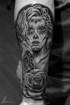 Awesome beauty by Jun Chan #tattoo #sleeve #art http://www.juncha.net/ 8531 Santa Monica Blvd West Hollywood, CA 90069 - Call or stop by anytime. UPDATE: Now ANYONE can call our Drug and Drama Helpline Free at 310-855-9168.