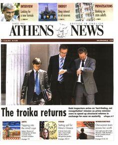 """Έκλεισε και η """"Athens News"""" ύστερα από 50 χρόνια !!!"""