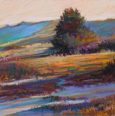 In The Dunes Painting by Ed Chesnovitch