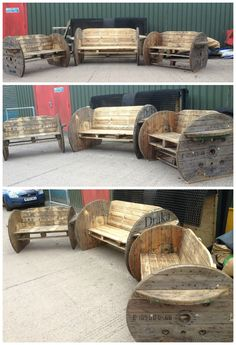 These are very interesting and we can paint them with a grapevine theme to give them a wine barrel look.