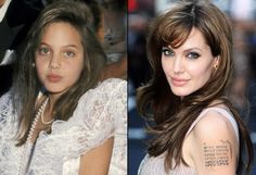 """ANGELINA JOLIE: 1st movie @ age 6 made brief appearance in 1982 """"Lookin' to Get Out"""". She studied acting at Lee Strasberg Institute at age 11, spent teenage years modeling, at 24 won an Oscar for """"Girl, Interrupted"""". She continues to balance dramatic roles & action blockbusters like """"Salt"""". (Apr 2012)"""