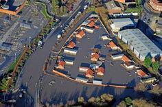 In pics: Aerial images show the devastation caused by floods across the north of England with particularly disastrous consequences in York and Leeds Aerial Images, Northern England, North Yorkshire, Image Shows, Rivers, Picture Show, Roads, Road Routes, River