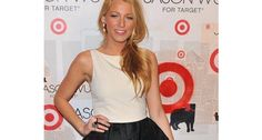 We love a tulip skirt with a smart top tucked in a la Blake Lively!