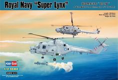 "Hobbyboss 1:72 Scale ""Westland Super Lynx"" Assembly Authentic Kit: Amazon.co.uk: Toys & Games"
