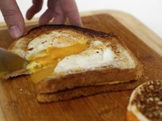 Eggs in a Hole + Grilled Cheese