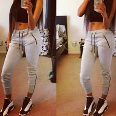Jordan girl swag ❤️ these J's Cute Outfits With Jeans, Swag Outfits For Girls, Dope Outfits, Jean Outfits, Summer Outfits, Girl Outfits, Casual Outfits, Girl Jordan Outfits, Outfits With Jordans