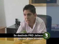 Se deslinda el presidente del PRD Jalisco, Juan Carlos Guerrero Fausto, de señalamientos en contra de su partido, junto con el PAN y PRI de estar detrás de una presunta autoría de un volante falso de Enrique Alfaro, candidato de Movimiento Ciudadano, qué contiene propuestas que no ha hecho y el logotipo del PRD.     Informe de Edgar Olivares