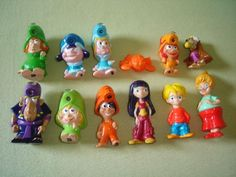Ferrero Kinder Brioss Lampaclima Figurines Set Italy Figures Collectibles | eBay