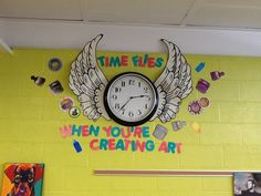 Time flies....in the Poplar Springs Art Room!