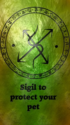 Sigil to protect your pet Sigil requests are closed.