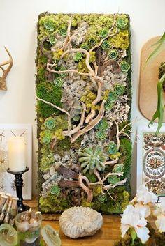 La Fabrique à Déco: Tableaux végétaux : un jardin d'intérieur ...
