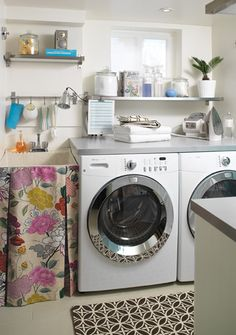 luxe laundry rooms @houseandhome