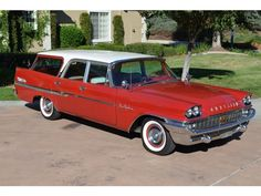 Imagine. The luxury of a 1958 Chrysler New Yorker ... in a station wagon!!!
