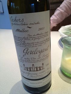 Twitter / katenthekitchen : Delicious Cahors Malbec courtesy ...
