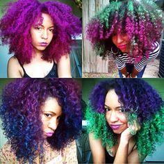 Her hair color is everything! www.talktresses.com @TalkTresses