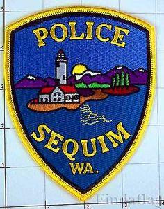 Washington Sequim Police Ocean Lighthouse Law Enforcement Patch