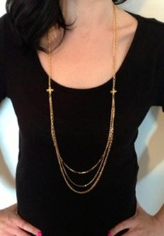 Stella & Dot Inspired Libby Layering Necklace! | Very Jane