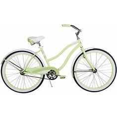 """New Women Bicycle 26"""" Huffy Cruiser Bike Pistachio Beach Green Classic Retro #Huffy"""
